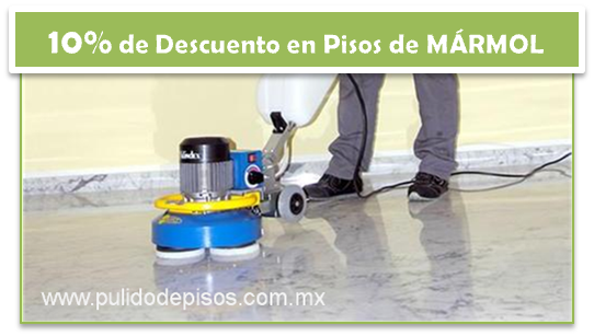 Promociones pulido de pisos clean center for Pulido de pisos de marmol